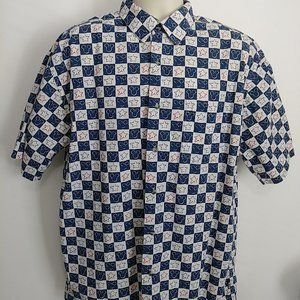 Vintage Disney Store Button Up Shirt Mickey Mouse